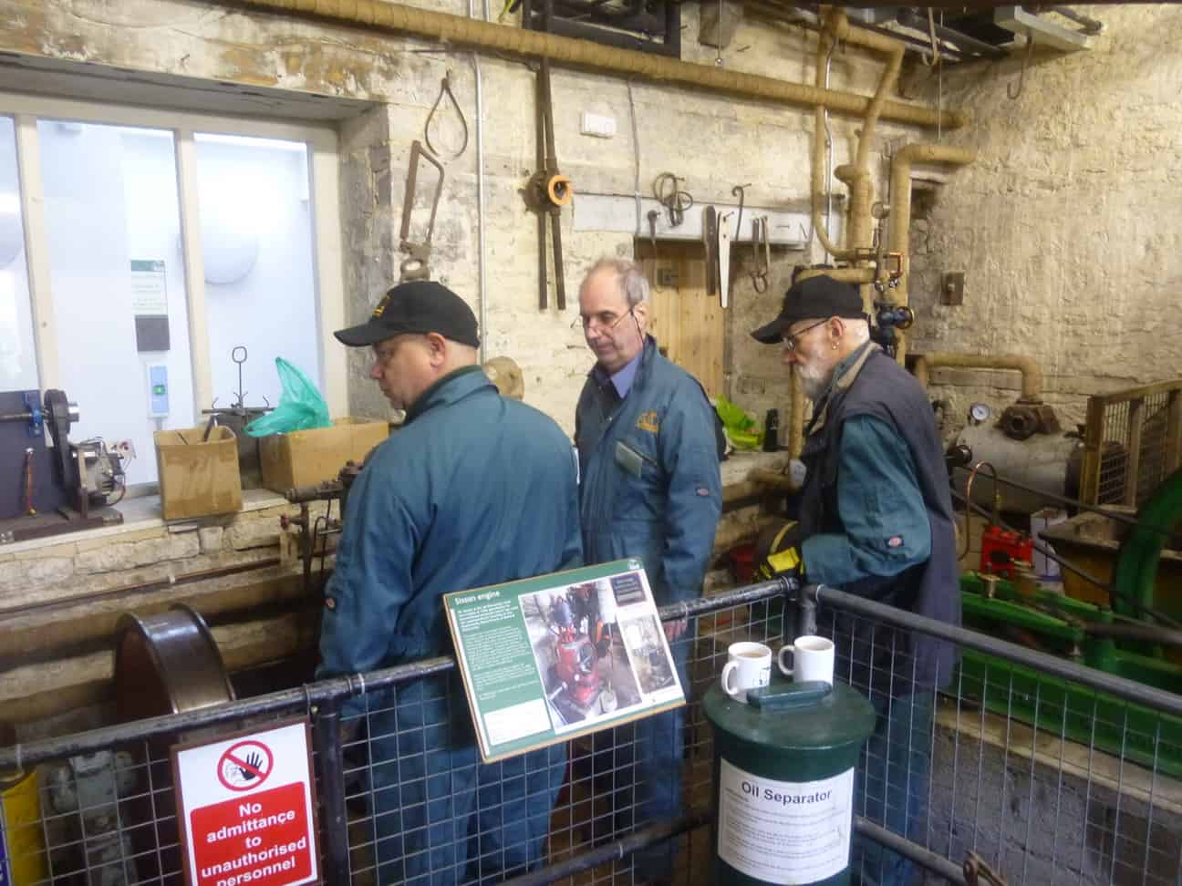 Alan, Ian and Brian - Small Steam Engines
